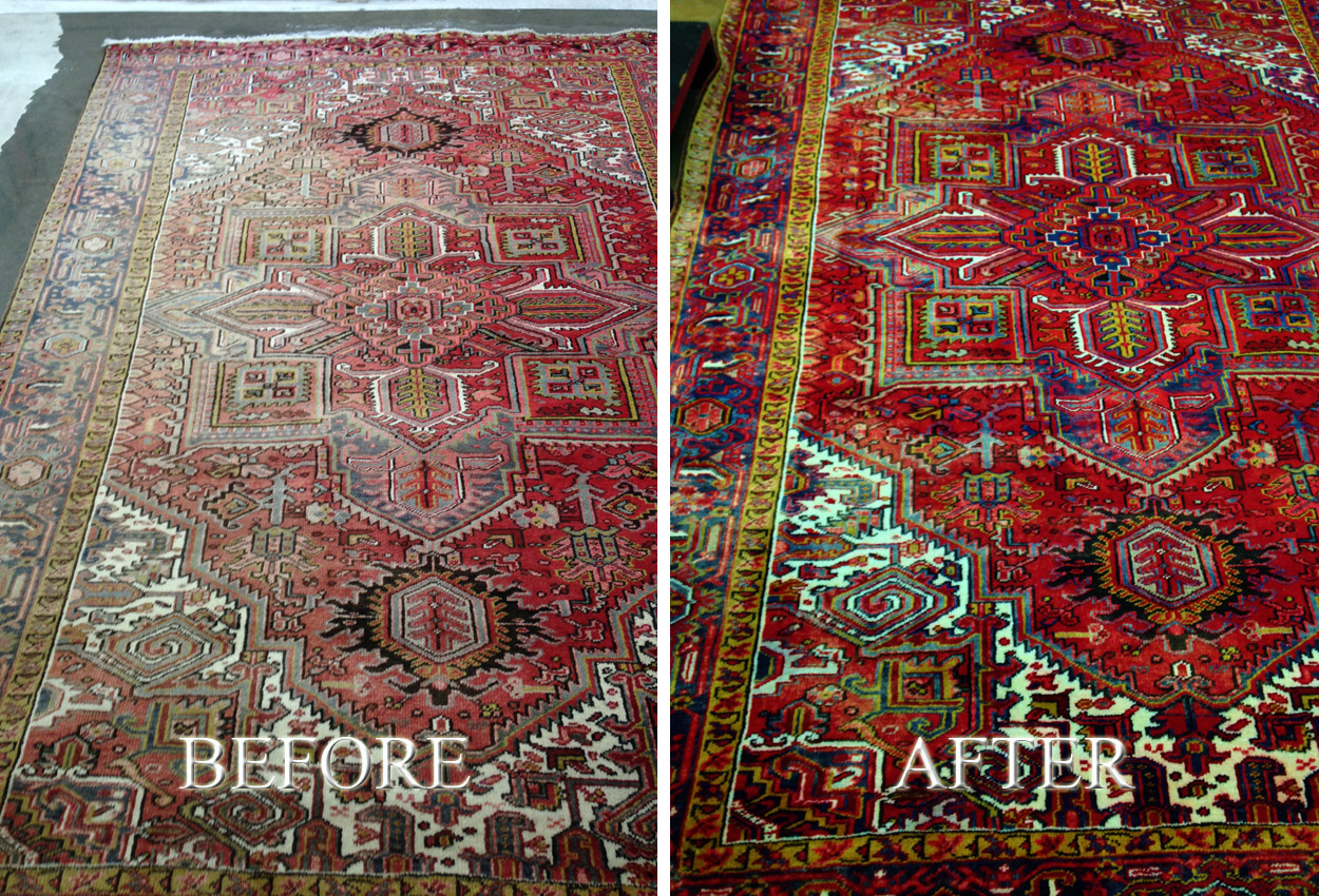 Oriental Rugs Maintenance Clean Sweep Services